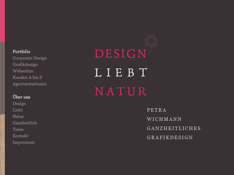 Design Liebt Natur Website