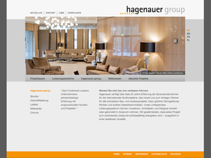 hagenauer group Website